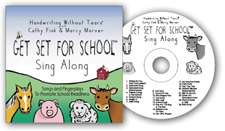 Handwriting without Tears Sing Along CD - Get Set for School