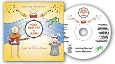 Handwriting without Tears Rock Rap Tap & Learn CD (self-esteem)