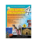 Reading Engagement Grade 4 Reg $19.95  Sale price $10.00