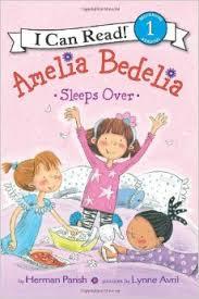 Level 1 Reading: Amelia Bedelia Sleeps Over