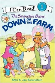 Level 1 Reading: The Berenstain Bears Down on the Farm (garden, animal, environment)