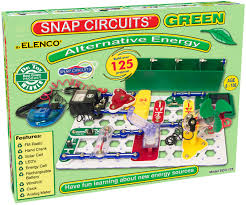 Snap Circuits Green ( STEM, Amps, Volts and Ohms, energy, electricity,BC3, BC4, BC7, BC9)