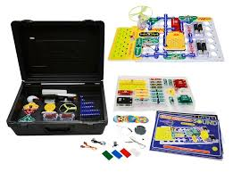 Snap Circuits Light & Sound Deluxe Combo (STEM, BC4,BC5, BC8)