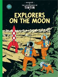 Adventures of Tintin - Explorers on the Moon