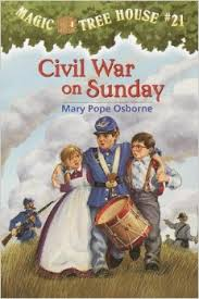 Civil War on Sunday ( Magic Tree House #21 )