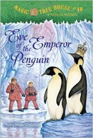 Eve of the Emperor Penguin [With Sticker(s)] ( Magic Tree House #40 )