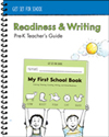 Handwriting Without Tears Readiness & Writing Pre-K Teacher's Guide