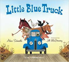 Little Blue Truck Board Book (Gift Ideas)