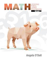 Math Lessons for a Living Education Grade 1 (HCOS1, BC1,Faith Based, Master Books)