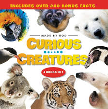 Curious Creatures: 4 Books in 1 ( Made by God ) Animals