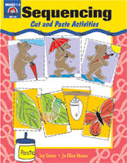 Sequencing: Cut and Paste Activities, Grades 1-3 - Teacher Resource Book