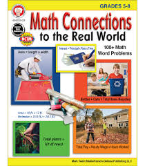 Math Connections to the Real World Resource Book (word problems)