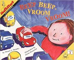 Beep Beep, Vroom Vroom! ( Mathstart: Level 1) (patterns, BCK, BC1)