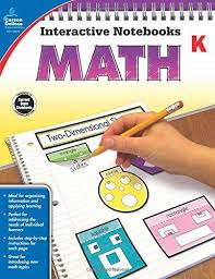 Math Interactive Notebook Gr K (hands-on activities)
