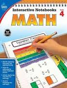 Math Interactive Notebook Gr. 4 (hands-on activities)
