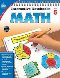 Math Interactive Notebook Gr. 5 (hands-on activities)