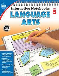 Language Arts Interactive Notebook Gr.5 (BC5)  hands-on activities