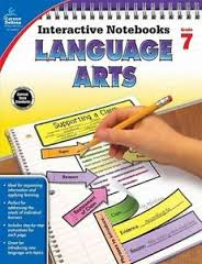 Language Arts Interactive Notebook Gr. 7  hands-on activities (BC7)