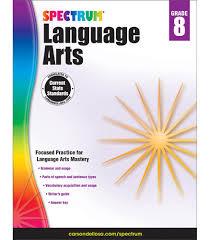 Spectrum Language Arts Workbook Gr 8