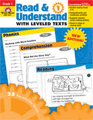 Read and Understand with Leveled Texts, Grade 1