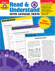 Read and Understand with Leveled Texts, Grade 5