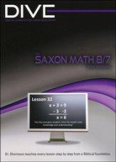 Saxon Math 87 3rd Edition DIVE CD-Rom