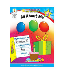 All About Me Workbook PK-1 (BCK)