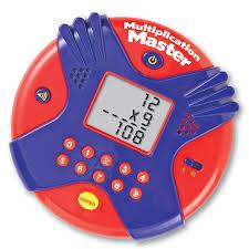 Multiplication Master Electronic Flash Card