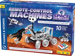 Remote-Control Machines: Space Explorers: Build a Mars Rover and other space machines! (Gift Ideas)