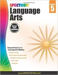 Spectrum Language Arts Workbook Gr 5 (CP5, BC5)