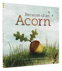 Because of an Acorn (Ecosystem, plant, animal)