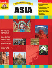 7 Continents: Asia, Grades 4-6+ (geography, cultures, resources)