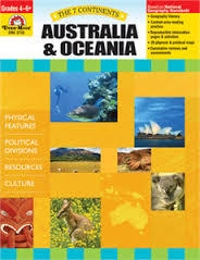 7 Continents: Australia and Oceania, Grades 4-6+ (geography, cultures, resources