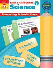 Skill Sharpeners: Science, Grade 1 - Activity Book (hands-on)