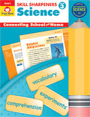 Skill Sharpeners: Science, Grade 3 - Activity Book (hands- on)
