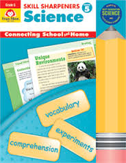 Skill Sharpeners: Science, Grade 5 - Activity Book (hands on)