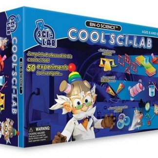 Ein-O-Science Cool Sci-Lab (50 cool experiments, force, sound, light, water, gravity, hands on science, STEM, BC6)