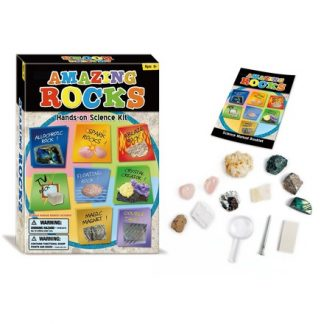 Amazing Rocks Kit (rocks minerals , geology, CP5, BC5)