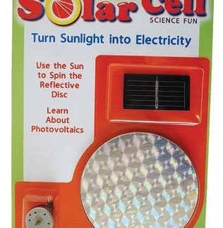 Solar Cell Science Fun Kit (thermal energy, hands on, BC3, BC7, BC8)