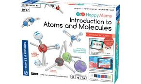 Happy Atoms Introductory Set (Chemistry, molecules,BC7, BC8, BC9)