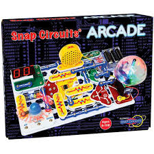 Snap Circuits Arcade Science Kit (light, sound, electronics, electricity)
