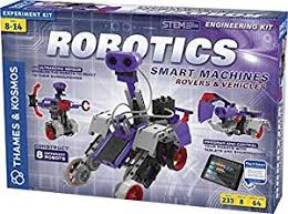 Robotics Smart Machines: Rovers & Vehicles  Program and control 8 robots with your tablet or smartphone (Robot, coding, engineering, BC6, BC7, BC8, BC9)