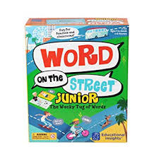 Word on the Street Jr. Game (spelling, word building)