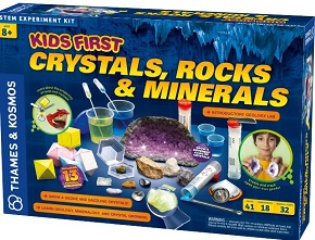 Kids First Crystals, Rocks, and Minerals (geology)
