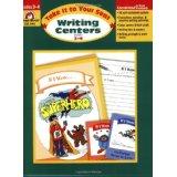 Writing Centers Grades 3-4 (SALE ITEM)