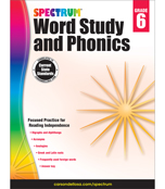 Spectrum Phonics Grade 6