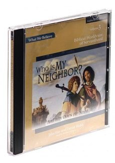 Who Is My Neighbor? Audio MP3 CD