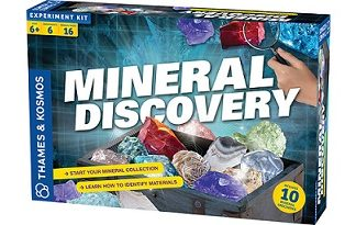 Mineral Discovery Science Kit (STEM rocks, crystals, minerals, BC5)