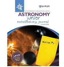 Exploring Creation with Astronomy Junior Notebooking Journal (Apologia, Faith based)