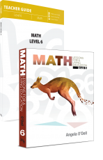 Math Lessons for a Living Education Grade 6 PKG (BC6, Faith Based, Master Books)